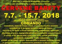 Dětský letecký tábor Červené barety pocta čs. parašutistům