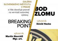 "Výstava ""Bod zlomu"" v Slovenském institutu v Praze"