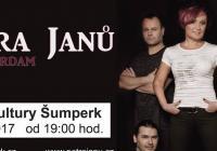 Petra Janů s kapelou Amsterdam