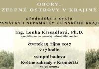 Přednáška - Obory: Zelené ostrovy v krajině