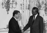 Tvůrčí Afrika: Havel a Mandela a lidská práva