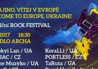 Ukrajino, vítej v Evropě! - benefiční rockový festival