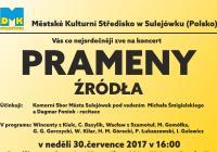Prameny (Źródła) - koncert peveckeho sboru