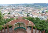 Park Špilberk s vyhlídkovým altánem, Brno