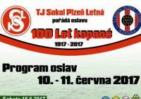 100 let FO TJ Sokol Plzeň - Letná