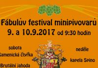 Fábulův festival minipivovarů