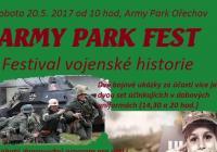 Army Park Fest - festival vojenské historie