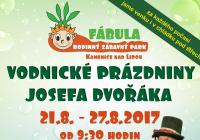 Vodnické prázdniny Josefa Dvořáka