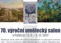 70. výroční umělecký salon v Poličce 2017