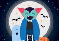 Akce pro děti: Halloweenský ples s Drákulou
