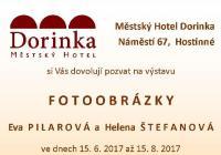 Fotoobrázky – výstava fotografií zpěvačky Evy Pilarové a Heleny Štefanové