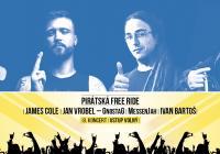 Festival Free Ride + pirátská solární loď na Náplavce