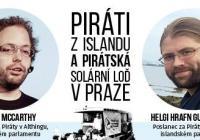 Zahájení Pirátské plavby v Praze a Piráti z Islandu na Náplavce