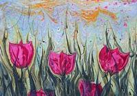 Kurz Ebru - květiny