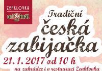 Tradiční česká zabijačka v restauraci Zenklovka