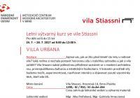 Letní výtvarný kurz ve vile Stiassni / pro děti od 6 do 15 let