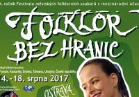 Folklor bez hranic Ostrava 2017