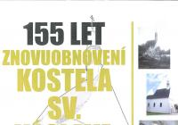 155 let od znovuobnovení kostela sv. Václava