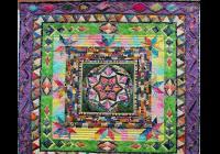 Zašitá krása - výstava patchworku