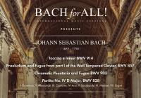 BACH for ALL festival uvádí: Barbara Maria Willi (cembalo recitál)