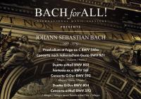 BACH for ALL festival uvádí: Peter Frisée