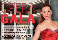 Koncert operní pěvkyně Jany Štěrbové