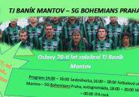 Oslavy Sedmdesátin TJ Baník Mantov