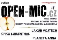 Festival autorské tvorby Open-Mic.cz