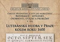 Luteránská hudba v Praze