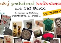 Pražský podzimní kočkobazárek pro Cat World