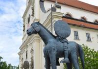 Socha Jošta Moravského, Brno