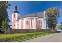 Za broumovskými kostely Kryštofa a Kiliána Ignáce Dientzenhoferů