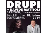 Drupi Davide Mattioli s kapelou v Ostravě