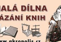 Malá dílna vázání knih - pro mládež od 12 do 15 let