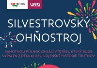 Silvestrovský ohňostroj - Trutnov