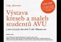 Výstava kreseb a maleb studentů AVU - Praha