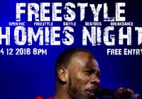 Freestyle Homies Night