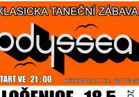 Odyssea - klasická rocková zábava v KD Ločenice