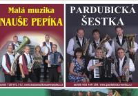 Společný koncert tří kapel