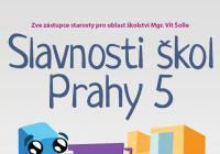 Slavnosti škol Prahy pět v parku Portheimka