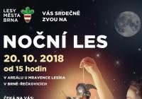 Noční les - Brno Řečkovice