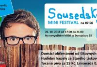Sousedský mini festival - Brno Starý Lískovec