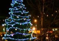 Rozsvícení vánočního stromu - Otrokovice