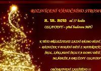 Rozsvícení vánočního stromu - Oslavany