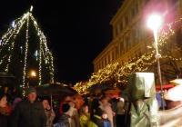 Rozsvícení vánočního stromu - Přelouč