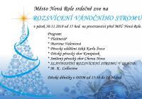 Rozsvícení vánočního stromu - Nová Role