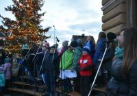 Rozsvícení vánočního stromu - Mnichovo Hradiště