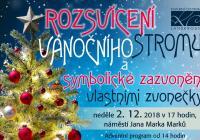 Rozsvícení vánočního stromu - Lanškroun