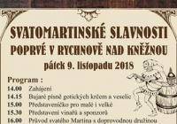 Martinské slavnosti - Rychnov nad Kněžnou