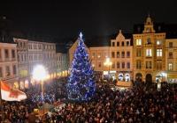 Rozsvícení vánočního stromu - Liberec